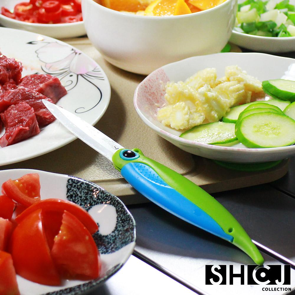 SHCJ生活采家創意摺疊料理陶瓷刀