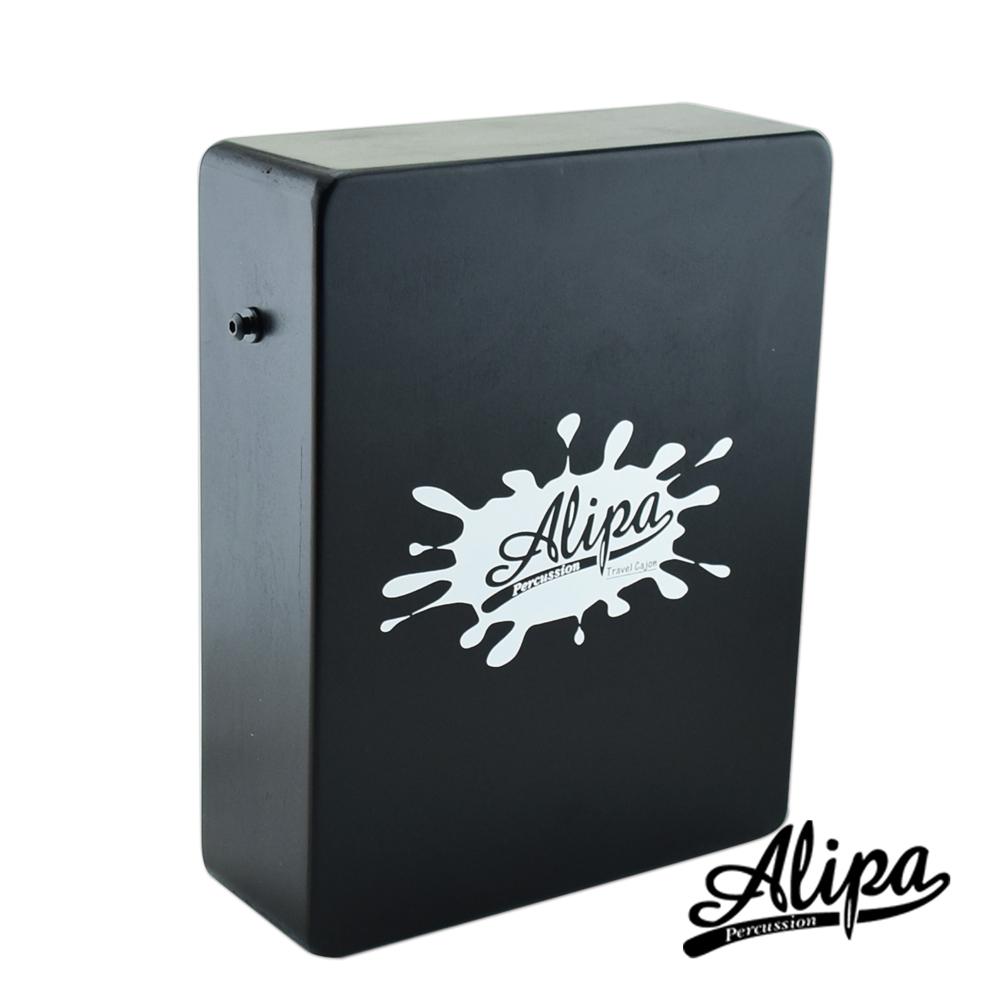 Alipa台灣品牌-Cajon 旅行用迷你木箱鼓附攜行袋 黑色(NO.290B)