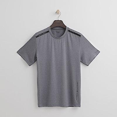 Hang Ten - 男裝 - Thermo Contro肩印條T恤-灰色