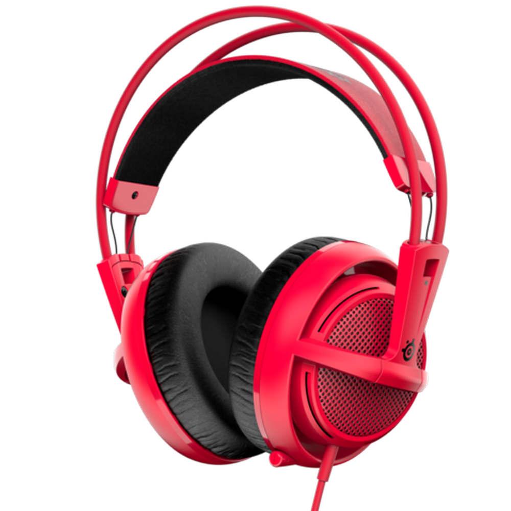 SteelSeries 賽睿 西伯利亞200 耳機麥克風 (紅色)
