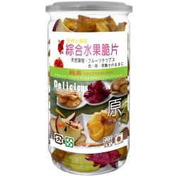 每日優果 罐裝綜合水果脆片(135g)