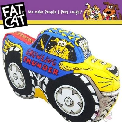 FAT CAT 卡車造型發聲啾啾玩具