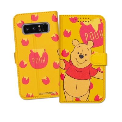 迪士尼授權正版 Samsung Galaxy Note 8 印花系列彩繪皮套(維...