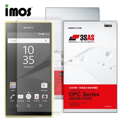iMOS Sony Xperia Z5 Compact 3SAS 螢幕保護貼