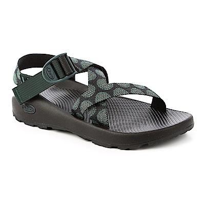 美國Chaco。男 越野運動涼鞋-標準款CH-ZCM01HE09(渦流綠)