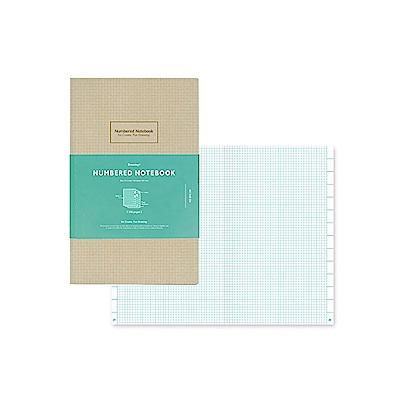 KOKUYO Drawing+索引方格筆記本(A5變形)