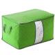 月陽60X40竹炭彩色加高型透明視窗衣物收納袋整理箱(C130L) product thumbnail 1