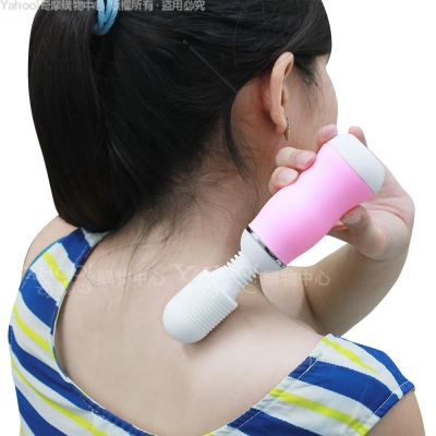 小資女貴婦命-50段曲線型 超強紓壓按摩棒-粉