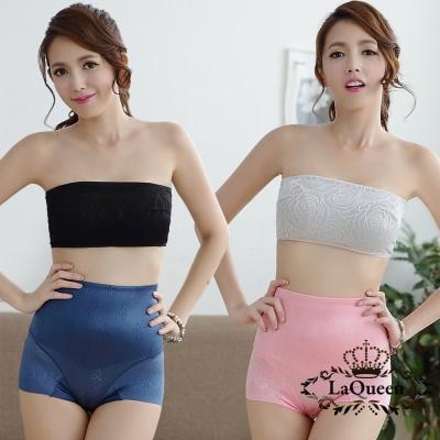 塑褲  輕薄無痕蠶絲美型雕塑褲5件組 La Queen