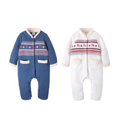 baby童衣 民族風圖騰立領空氣棉連身衣 50707