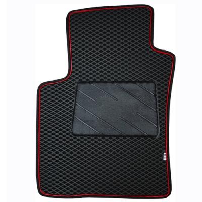 葵花 量身訂做 汽車地墊 EVA發泡加防漏邊系列 雙前座