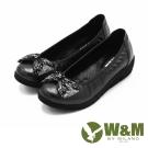 W&M 閃亮水鑽厚底娃娃鞋 女鞋-黑(另有藍)