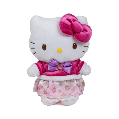 Sanrio HELLO KITTY 8吋絨毛娃娃(甜點公主)