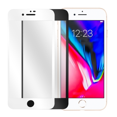 LUCCIDA Apple iPhone8/7 Plus 9H鋼化玻璃貼【3D滿...