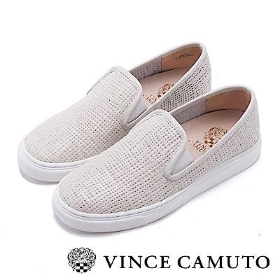 Vince Camuto 潮流休閒百搭平底懶人鞋-白色