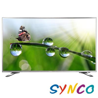 SYNCO新格 55吋 4K UHD連網 LED液晶顯示器+視訊盒 LT-55UA27A