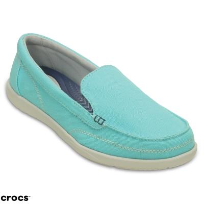 Crocs卡駱馳(女)沃爾盧帆布便鞋二代-202489-4CV