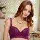 內衣   透氣包覆蠶絲成套內衣-紫 La Queen