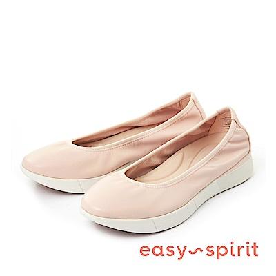 Easy Spirit--微尖頭厚底休閒鞋-優雅粉