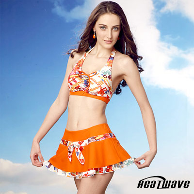 【Heatwave】俏麗風彩 萊克三件式泳裝