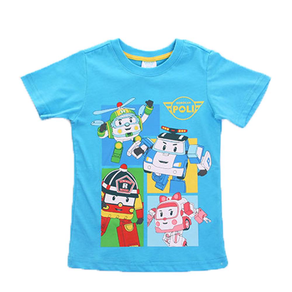 POLI純棉短袖T恤 k50077