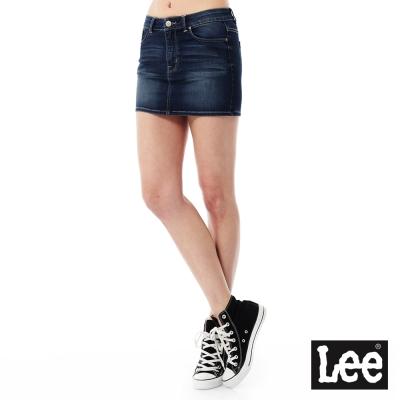 Lee 牛仔短裙Regional列-女款-藍