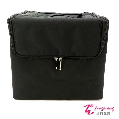 Xingxiang形向 專業新秘黑色素面隨身羽量化妝箱 6K-24A