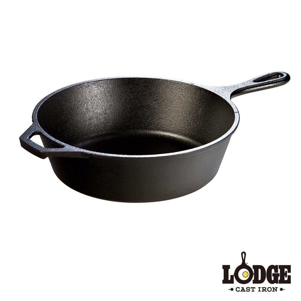 Lodge 鑄鐵深煎平底鍋10.25吋/26公分