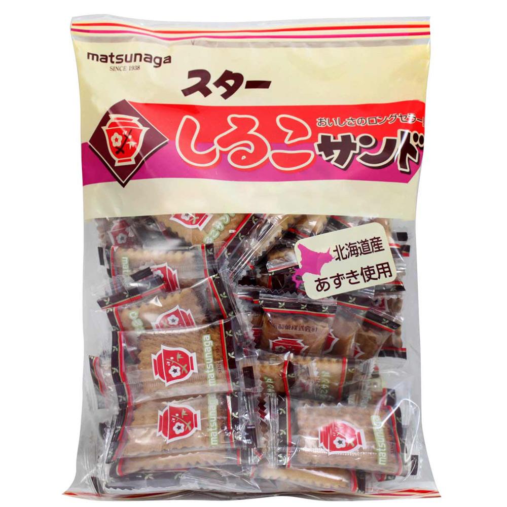 松永製果 北海道紅豆夾心餅乾 (230g)