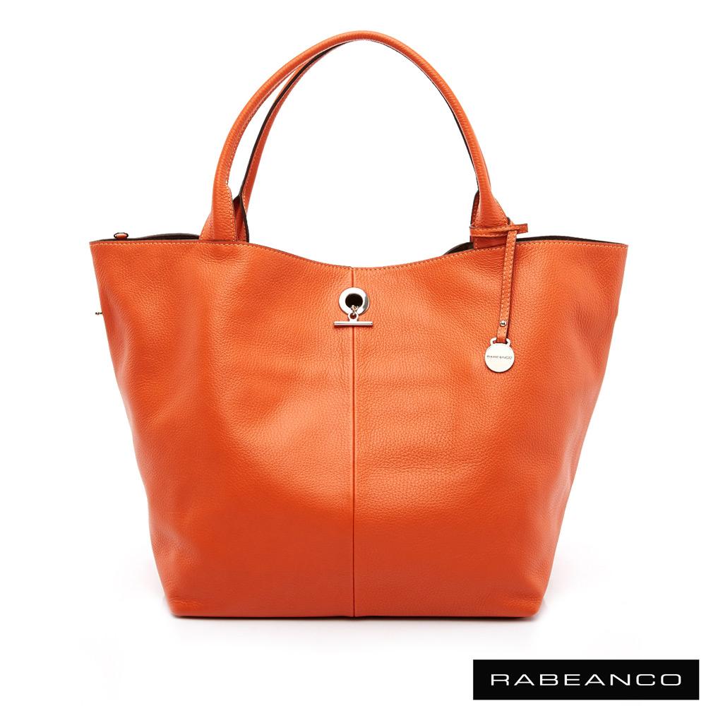 RABEANCO Classic經典系列肩背包(大) - 暖心橘