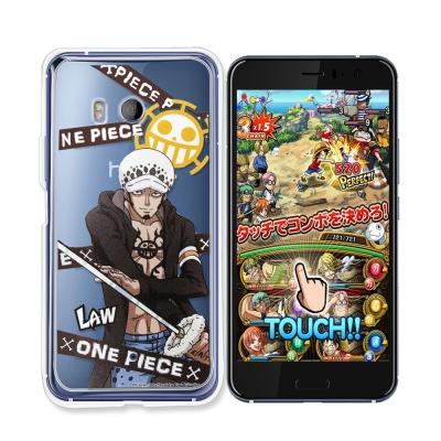 東映授權正版 航海王 HTC U11 透明軟式手機殼(封鎖羅)