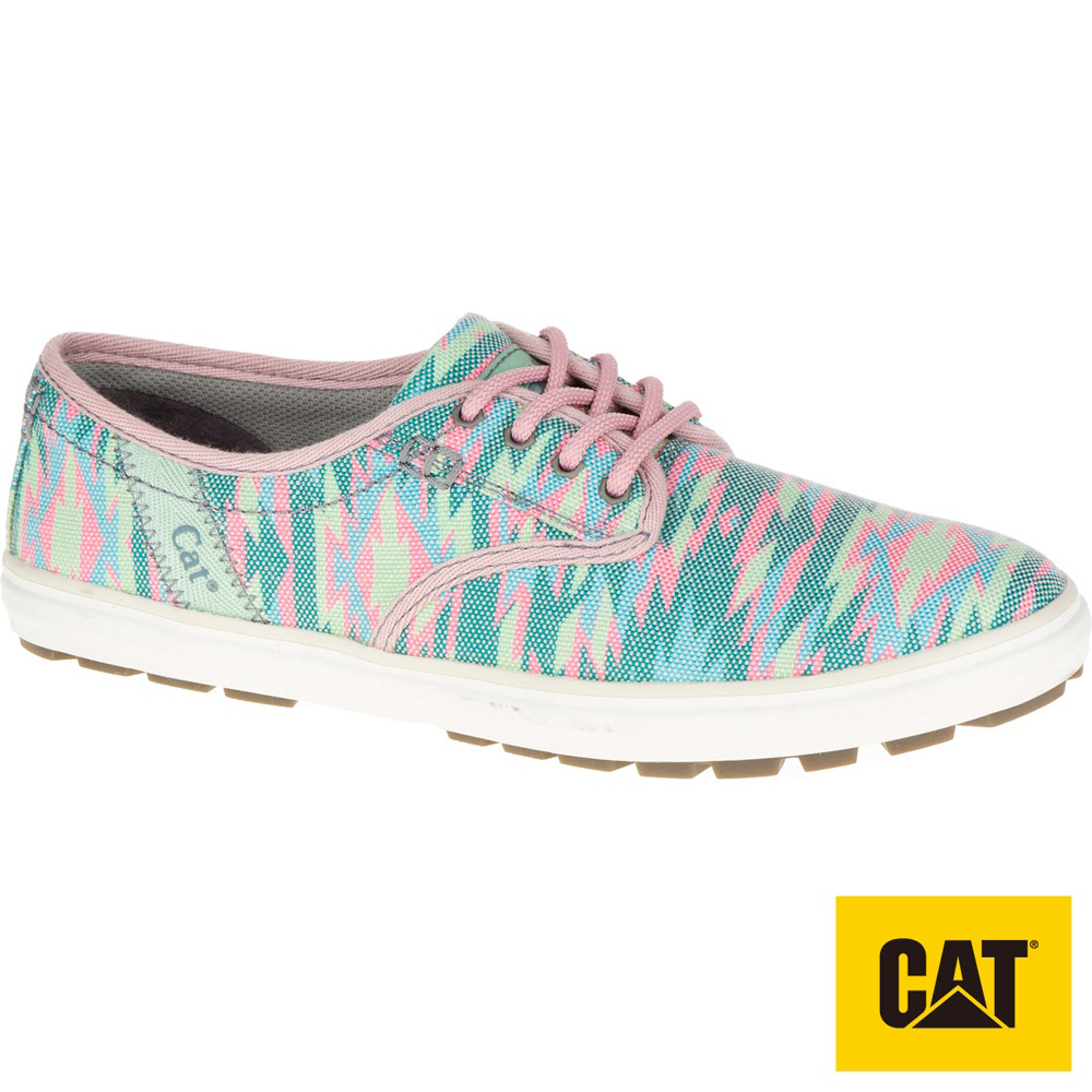 CAT FRAY 繽紛休閒女鞋-粉(308504)
