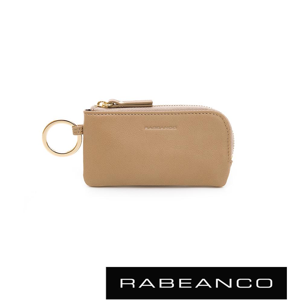 RABEANCO 迷時尚系列鑰匙零錢包 杏