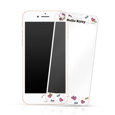 Hello Kitty鋼化玻璃保護貼 iPhone 6/7/8+ 5.5吋共用