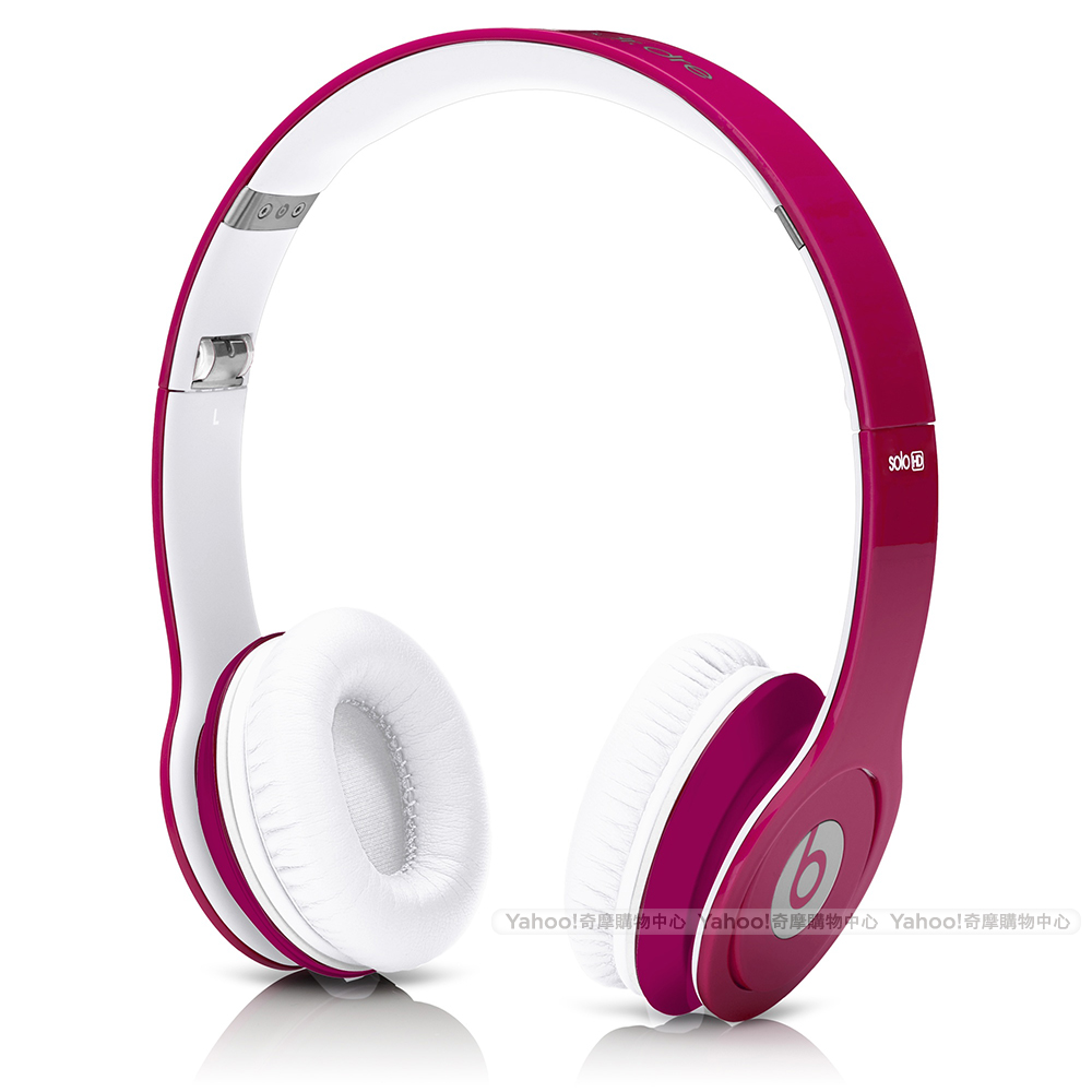 BEATS耳機 Solo HD 粉紅 耳罩耳機 beats by dr. dre台灣公司貨