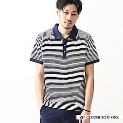 機能性網眼POLO衫(20色) ZIP日本男裝