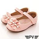 PV日系私藏 緞帶珍珠公主鞋款 8658粉紅(中小童段)