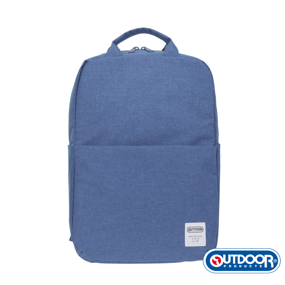 OUTDOOR- 極簡生活2.0系列-後背包-雪白中藍-OD49966MBS