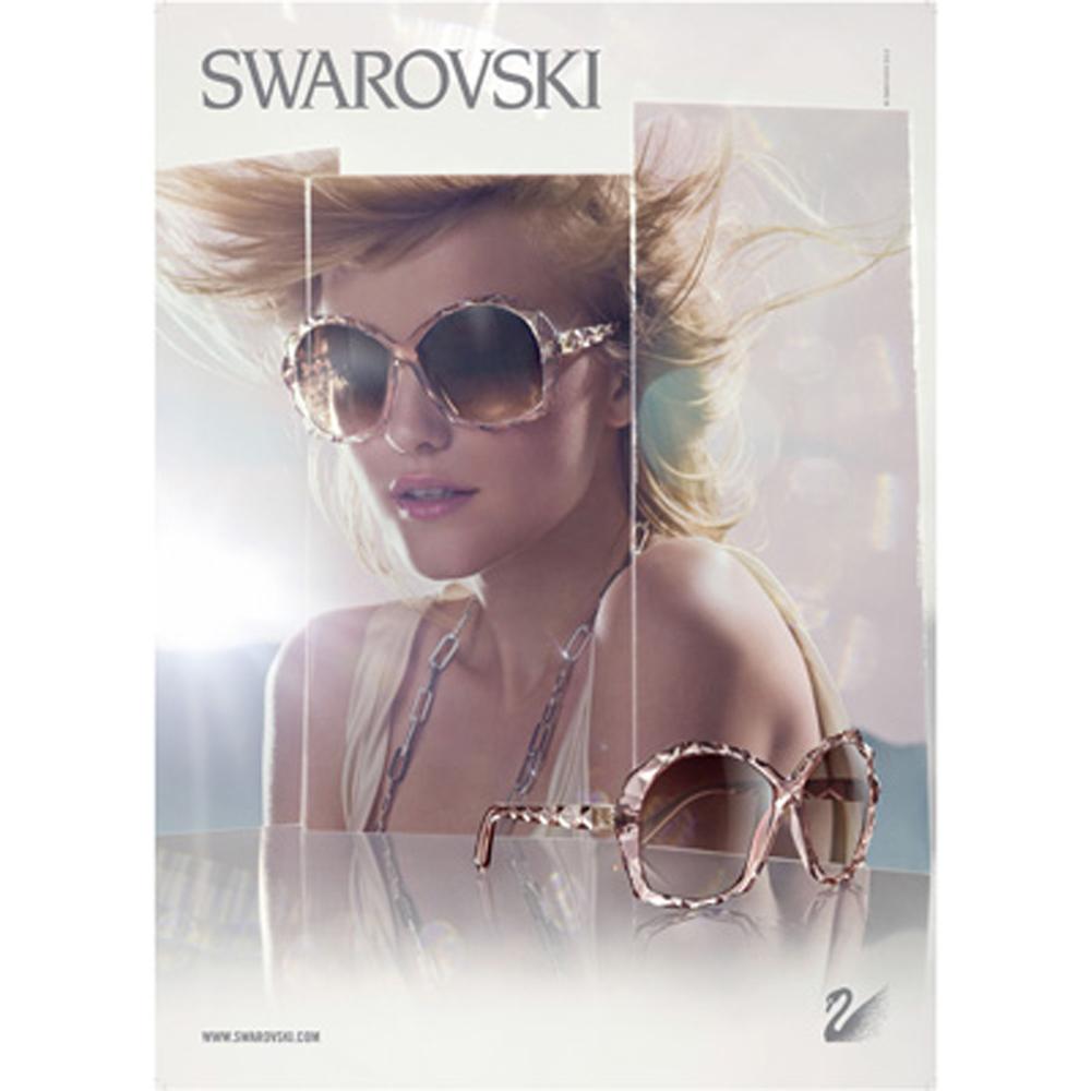 SWAROVSKI-時尚太陽眼鏡(共4色)SW2