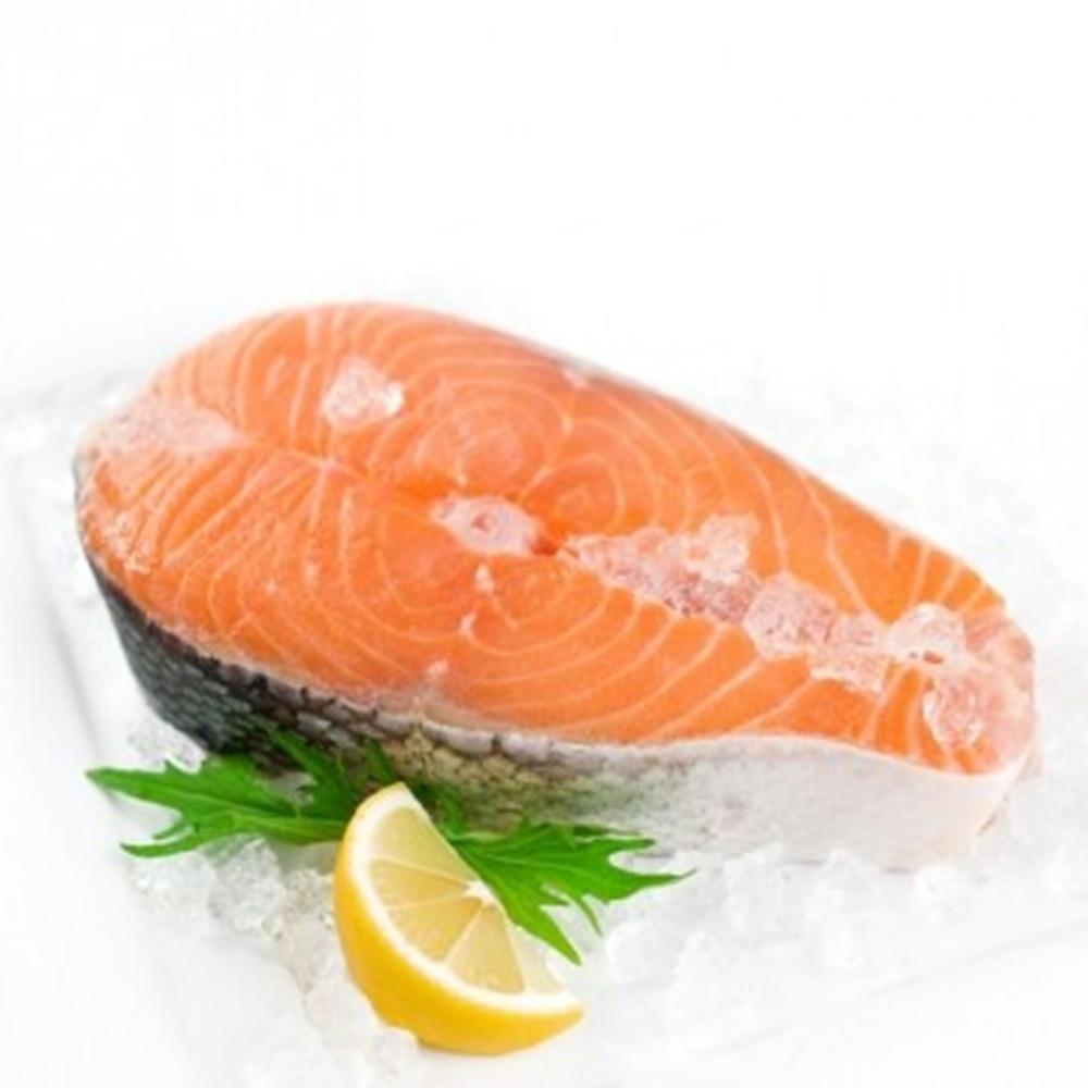 極鮮配888任選 挪威鮭魚厚切 (310g/片)