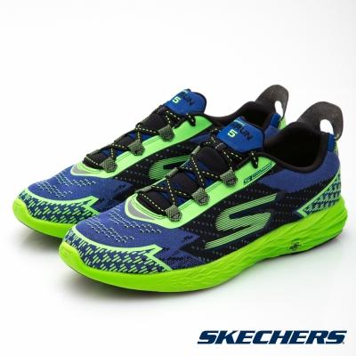 SKECHERS(男)跑步系列GORun5 NITE OWL-55000BLGR