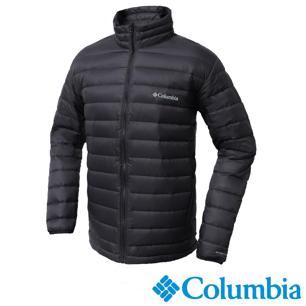 Columbia哥倫比亞 男款-OH700羽絨夾克-黑色 UWO00230BK