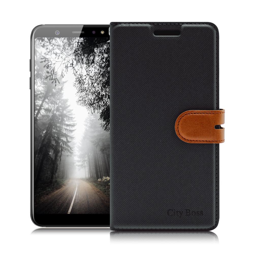 CITY Samsung Galaxy A6+/A6 Plus 浪漫都會手機皮套