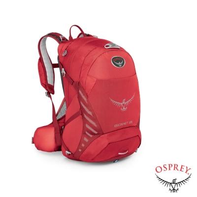 美國-OSPREY-新款-Escapist-25L-專業自行車後背包-辣椒紅