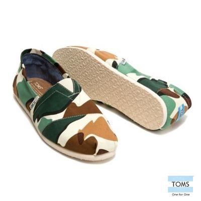 TOMS 城巿迷彩懶人鞋-男款(迷彩)
