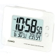 CASIO 全方位溫濕度感應貪睡數位鬧鐘(DQ-982N-7D)-白色 product thumbnail 1