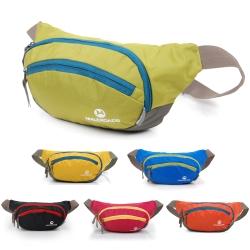 原裝Maleroads 容納6.1吋手機 運動腰包 夾層多方便收納 防潑水設計