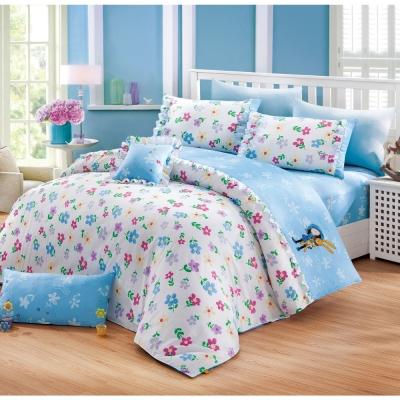 我的錯都是大人的錯 小兔花園 雙人兩用被床包組