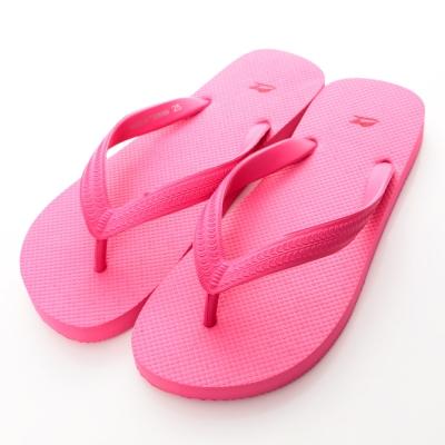 Roadpacer-女素色人字拖BS001PIK-粉紅
