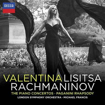 拉赫曼尼諾夫-鋼琴協奏曲全集-帕格尼尼主題狂想曲-李希特薩-鋼琴-法蘭西斯-指